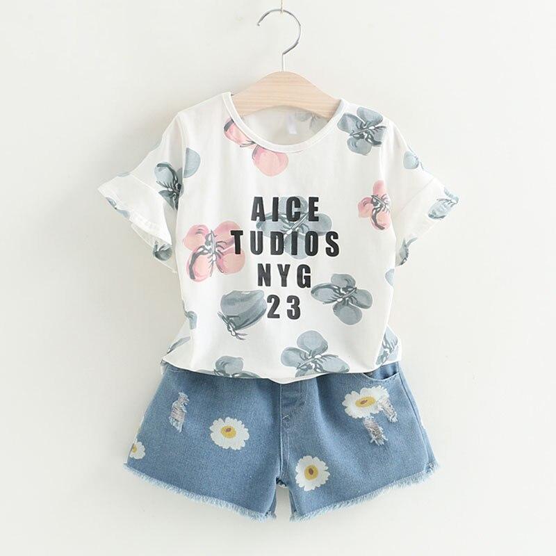 Anne Ve Cocuk Ten Giyim Setleri De Yaz Yeni Moda Cocuk Giysileri