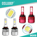 Oslamp Automobiles Single Beam HB3 Led Headlight Kits for Car Led #9005 Auto Led Headlight Bulbs SUV COB Fog Lamps All-in-one