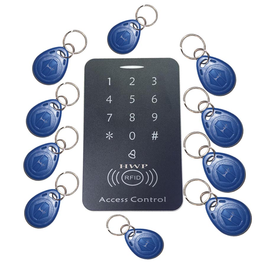 Free shipping Keypad Access Control  RFID Proximity Door Access Control System 125KHZ  10 cards freeFree shipping Keypad Access Control  RFID Proximity Door Access Control System 125KHZ  10 cards free