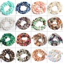 Miçangas de pedra larimar de quartzo, 8-10mm, irregular, apatite, pedra de gema, miçangas soltas para fazer jóias diy pulseira 15