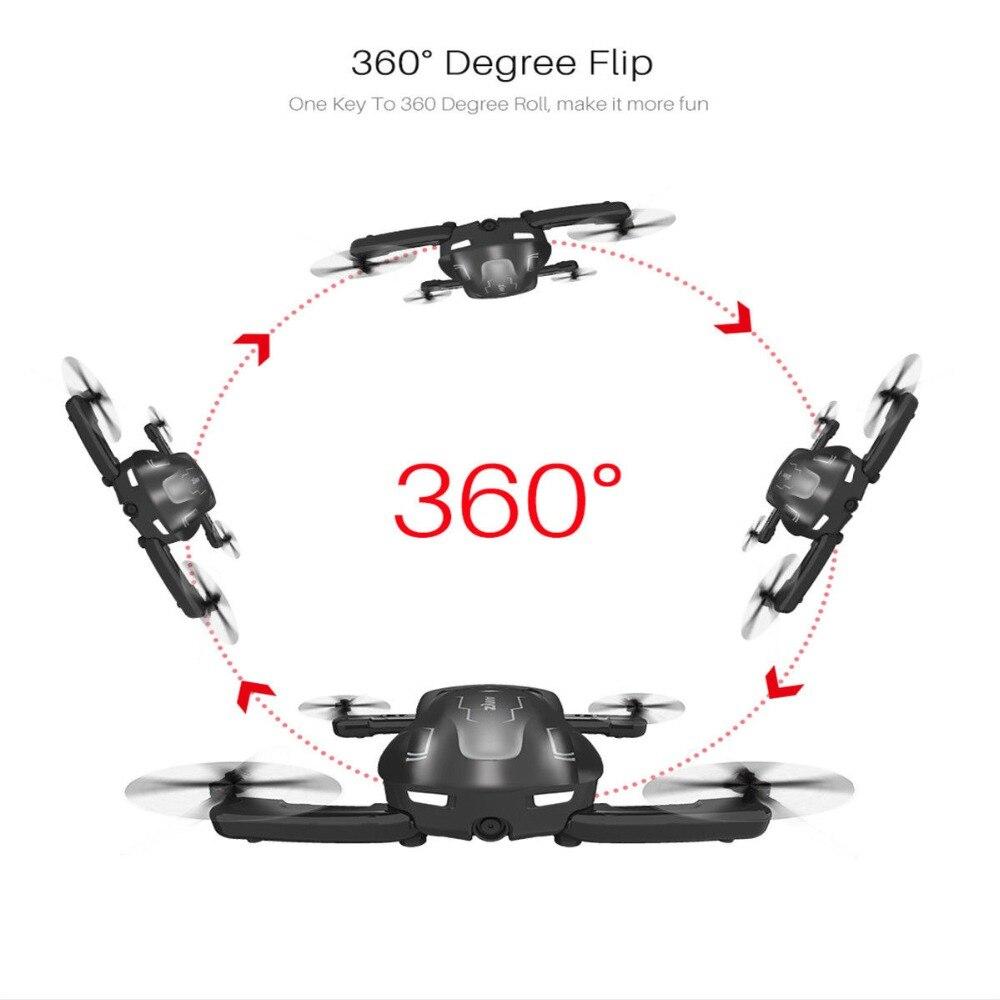 SYMA Z1 pliable RC Drone HD caméra 2.4Ghz 6 axes télécommande Wifi Qudacopter 4CH intelligent RC Drone optique positionnement de flux