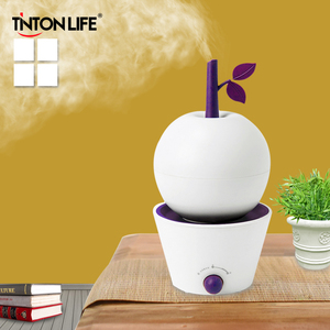KBAYBO 400ml Aroma Essential Oil Diffuser Ultrasonic Air Humidifier with Wood Grain 7 Color Changing LED Lights for Office Home(China)