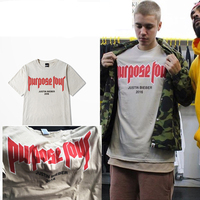 Justin Bieber Purpose Tour My Mama Dont Like You Print Short Sleeve T Shirts 3 Colors