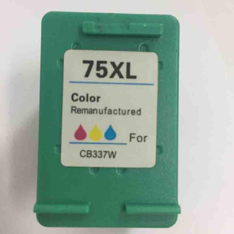 75xl cartucho de tinta compatível para hp 75 Vilaxh substituição para hp PhotoSmart C4200 C4210 C4380 C4583 C4494 C4493