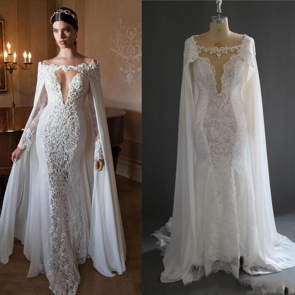 Buy retro arabic mermaid lace bridal for Wedding dress in stock
