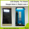 5.5 pulgadas nuevo hongmi note 4 lcd screen display + touch digitalizador lcd de repuesto para xiaomi redmi note 4 lcd completa + free herramientas