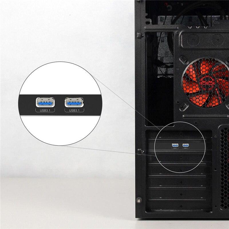 ORICO 2 prievadas USB3.1 PCI-E adapteris PCI Express išplėtimo - Kompiuterių periferiniai įrenginiai - Nuotrauka 6