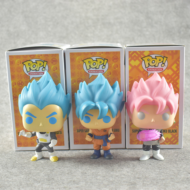 2018 Fashion Dragon Ball Toy Son Goku Anime Super Vegeta POP Model Doll Collection Toys For Children Christmas Gifts