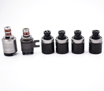 New OEM 6pcs 5R44E 5R55E Transmission Shift Solenoid for Coast Ford 97-UP Tested
