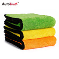 AUTOYOUTH 850gsm Luxury Super Thick Plush Microfiber Car Cleaning Cloths Car Care Microfibre Wax Polishing Detailing Towels
