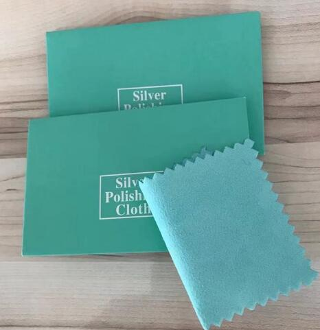 4colors Silver Polish Cleaning Polishing Cloth Package Silver Cleaning Cloth  Cloth Silver Jewelry Suede Maintenanc