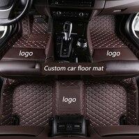 kalaisike Custom car floor mats for Mercedes Benz all models E C ML GLK GLA GLE GL S R A B CLK SLK CLA CLS G GLS GLC vito viano