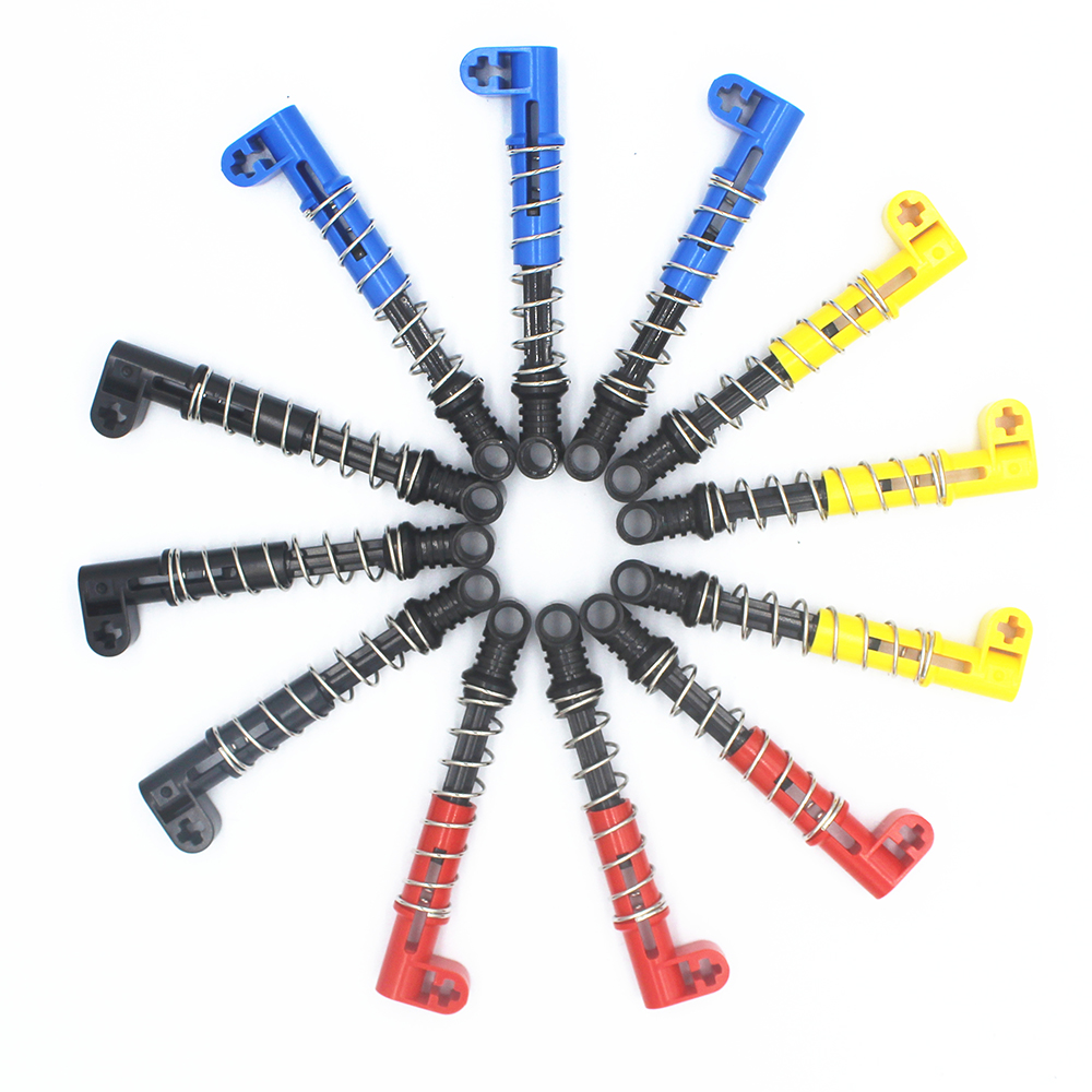 Part 76537 Technic Shock Absorber 6.5l With Hard Spring 76537 73129/76138 95292 9209 Moc Legoings Building Blocks Toys Durable Service Blocks Model Building