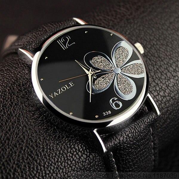 YAZOLE Hodinky Lucky Flower Quartz Watch 4