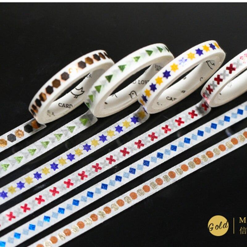 Symbol Alphabet Washi Tape Adhesive Tape Diy Scrapbooking Sticker Label Masking Tape 5mm X 5m