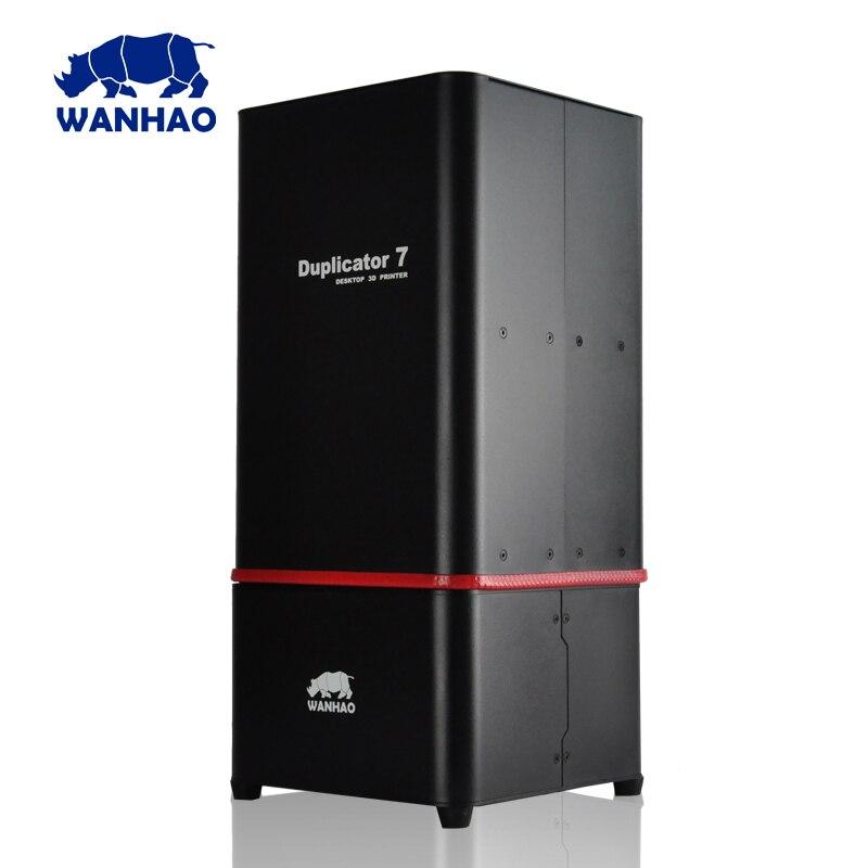 2018 vendita calda WANHAO Nuova Versione UV resina stampante SLA 3D DLP D7 di alta qualità con il prezzo più basso per V1.5