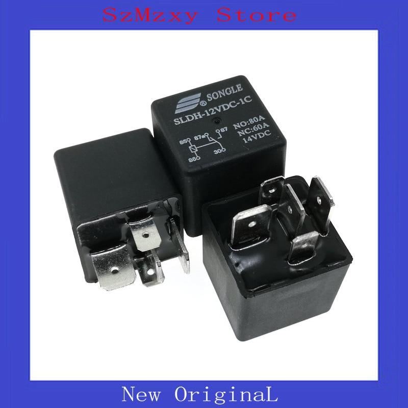 2pcs//set ORIGINAL SLDH-12VDC-1C NO:80A NC:60A 14VDC SONGLE Relay NEW