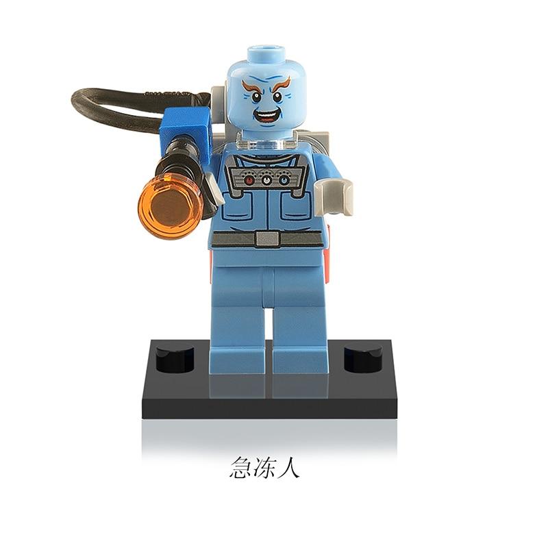 XH135 Dr Victor Fries Mister Freeze Single Sale DC Super Heroes Figure Building Blocks Models Building
