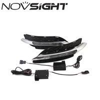 NOVSIGHT Auto Car LED White DRL Driving Daytime Running Light Fog Lamp Light For Benz W246 B200 B180 11 14 D20