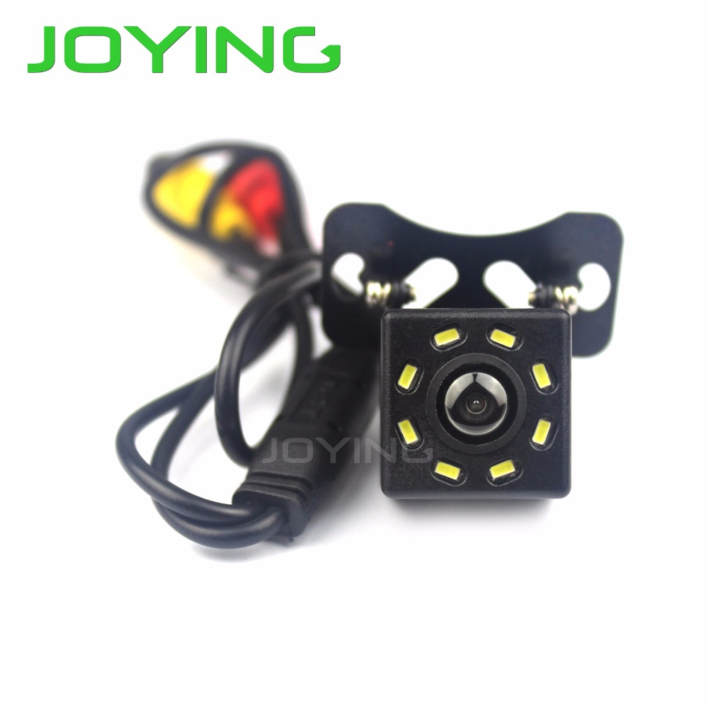 JOYING Rear View Camera Car Camera 170 PC 3089 CMOS Reversing Car Backup Reverse Accessories With 170 Wide Angle Parking Assist