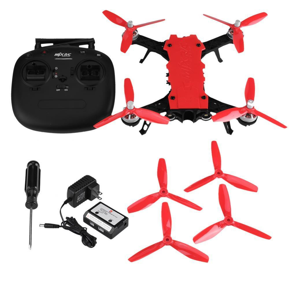 MJX B8pro 2.4G 4CH RC Racing Drone Quadcopter RC Stunt Helicopter 5.8G 720P FPV Camera Brushless Motor Acro Mode Max To 45km/h