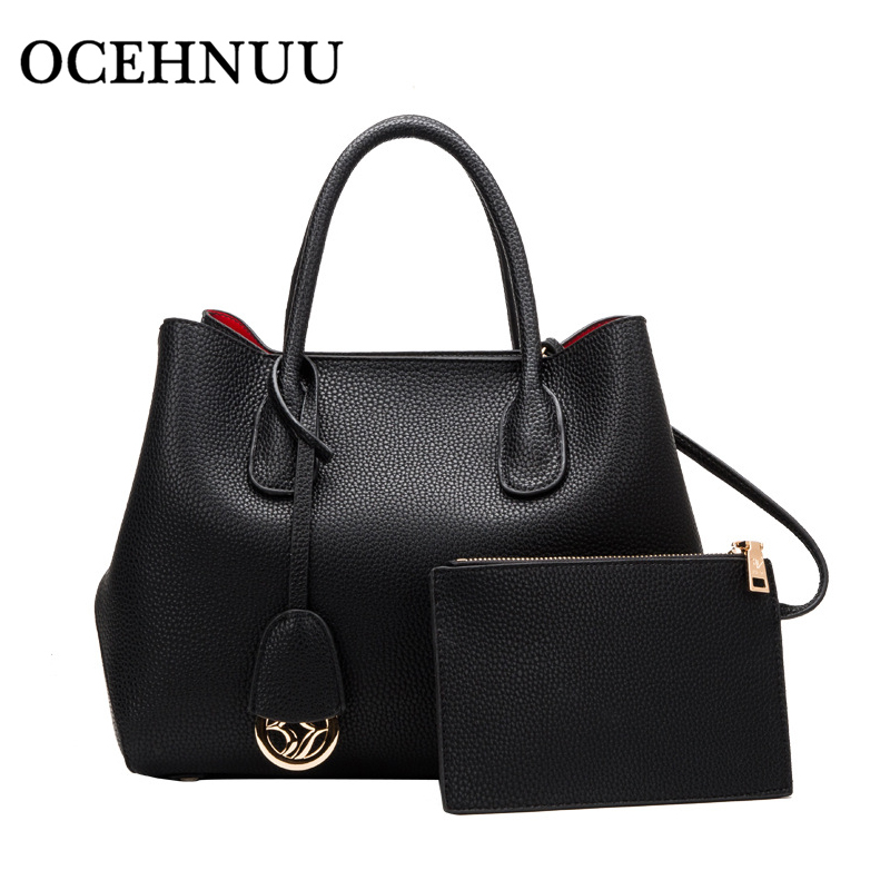 OCEHNUU Luxury Purses And Handbags For Women 2018 Genuine Leather Ladies Tote Bag Crossbody High Quality Women Messenger Bags luxury handbags women bags designer messenger chain bag genuine leather cover vintage flap patchwork ladies high quality purses