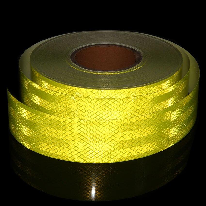 5cmx9m Reflective Tape Stickers Moto Self Adhesive Tape