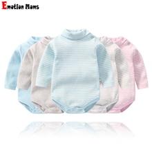 Детские комбинезоны; зимняя одежда для маленьких мальчиков; комбинезон с длинными рукавами для маленьких девочек; комплект детской одежды из очень органического хлопка