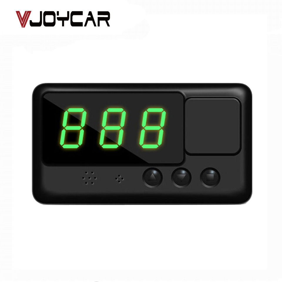 Popular <font><b>C60</b></font> <font><b>GPS</b></font> Speedometer Car HUD Head Up Display Vehicle Overspeed Alarm On The Windshield Projector Better Than A100 OBD HUD image