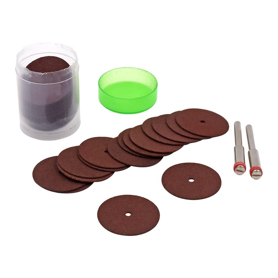 36pcs 24mm Kit de disco de corte de rueda de corte de resina para Dremel Rotary Hobby Tool Bit Dremel Accesorios