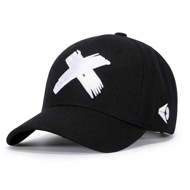 Baseball-Hat Snapback Hat Spring Embroidery-X-Cap Adjustable Tactical Winter Women