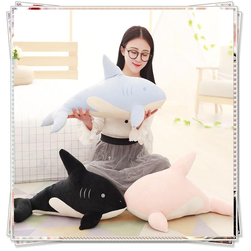 Miccidan Dolphin pillow stuffed toys giant bear bed mattress  sponge bob baby toy giant shark plush valentine's day gifts pernycess 1pcs 130cm bear cute oversized pillow stuffed toys