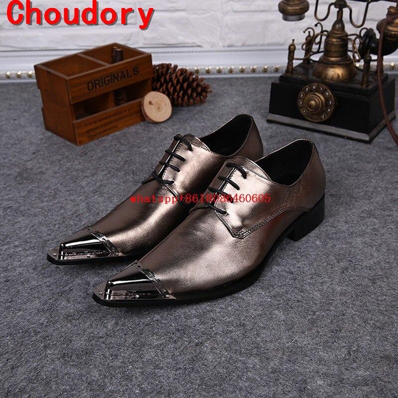 Здесь продается  Choudory 2017 Fashion Italian Business Sliver Gold color Monk Shoes Steel Toe Metal Formal Dress Shoes Men Large Size EU46   Обувь