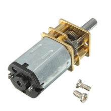 N20 DC12V Motor Da Engrenagem 100 RPM High Torque Elétrica Gear Box Motor Populares(China)