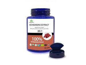 Image 2 - Naturale Estratto di Schisandra capsule, 100% Schisandra Estratto in polvere 20:1 Schisandrin UN Schisandrin B