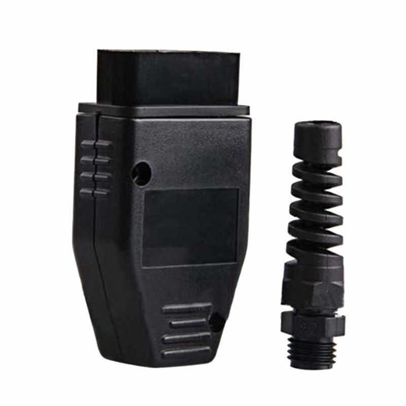 5-20 pcs OBD2 Strumento Spina Standard Borsette Per I Protocolli di OBD OBDII EOBD J1962 OBD2 16Pin Spina Maschio Connettore interfaccia di Vendita Calda!