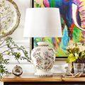 [Бренд группы] C нечетные Ранги выход гостиной спальни лампа может Leah трещина наклейки Декоративные Керамические настольные лампы
