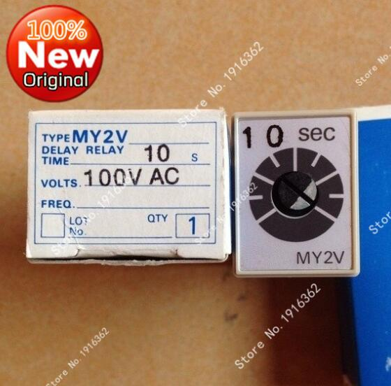 все цены на 1pcs/Lot Time relay MY2V AC100V new original онлайн