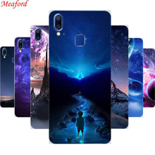 6.22 Cover For VIVO Y95 Y91 Case Soft TPU Silicone Case For VIVO Y91 Y95 Case Coque Y 95 Y 91 Funda Phone Back Cover Star Sky vivo y91 case cover for vivo y91 magnetic finger ring phone case shell bumper protective hard pc armor case for vivo y91 y95