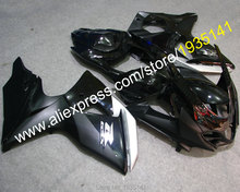 Hot Sales,Black parts For Suzuki K9 GSXR1000 2009-2014 GSX R1000 09 10 11 12 13 14 aftermarket kit Fairing (Injection molding)