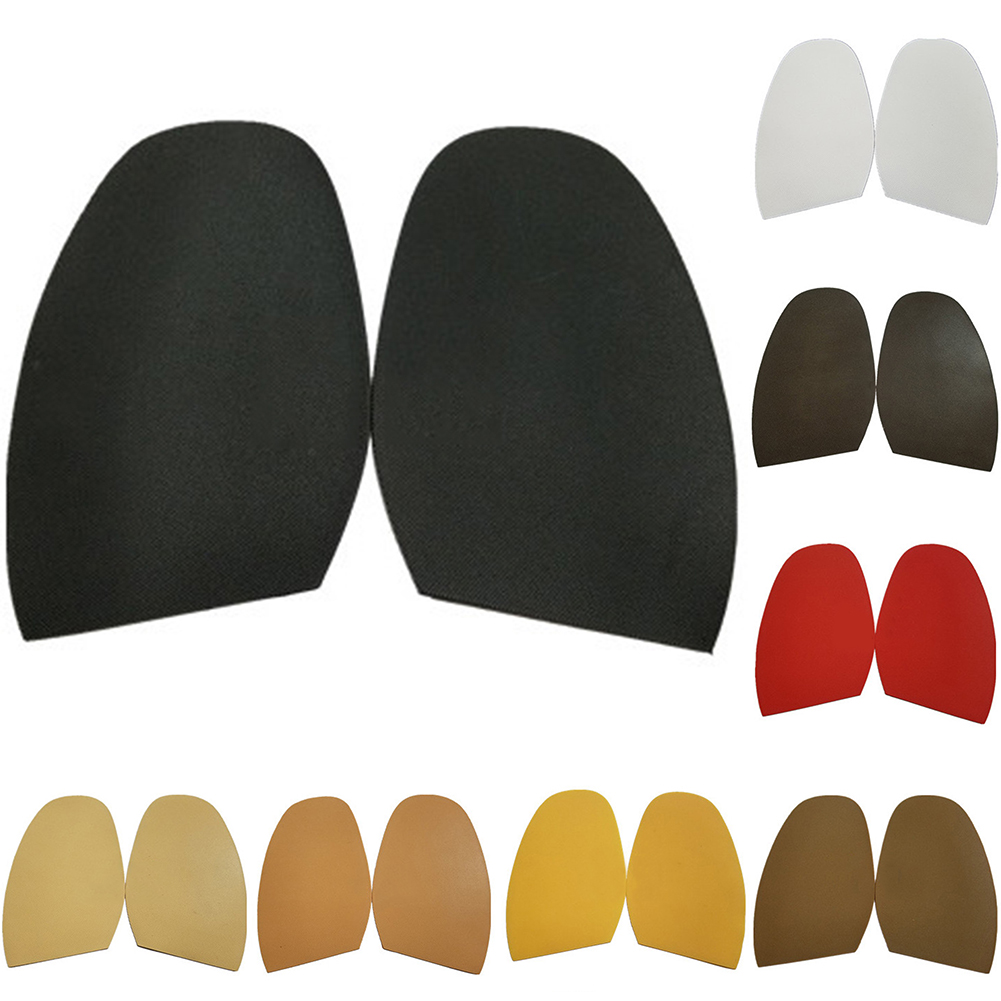 1 Pair Repair Rubber Shoe Sole Anti Slip Protective Half Soles Outsole Forefoot Pads Repairs Shoe Supplies