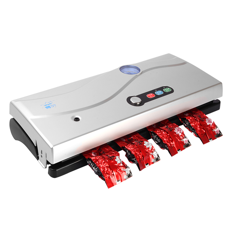 Full Automatic Wet and Dry Dual Purpose Small Household Vacuum Sealer Commercial Food Vacuum Packing Machine with