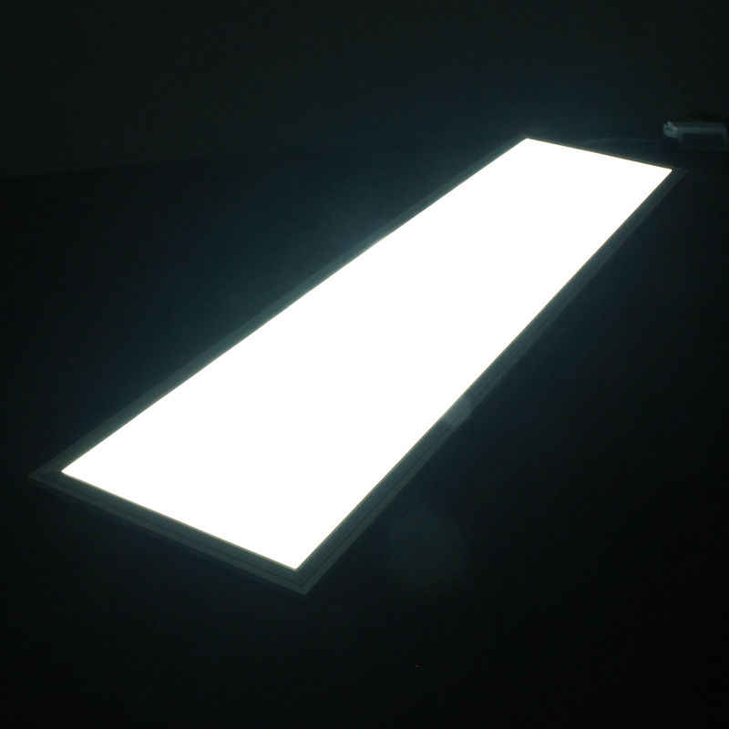 Painel suspenso 300x1200, 40 w smd conduziu a luz do painel com 2400lm substitui 120 w incandlescente tubo altura potência ac 220 v 3 anos