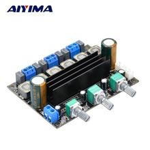 Digital Amplifiers Board TDA3116D2 2.1 Channel HIFI Stereo Subwoofer Power Amplifier Board DC 12V 24V 100W