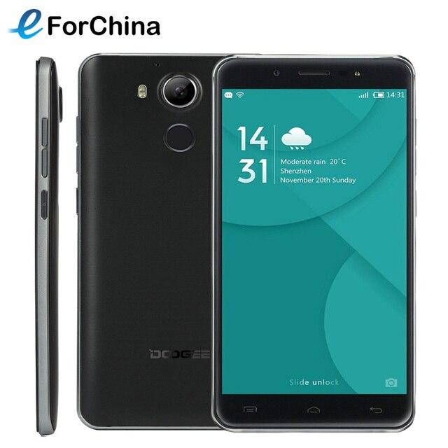 Оригинал DOOGEE F7 Helio X20 Телефон MTK6797 Дека core RAM 3 ГБ ROM 32 ГБ 5.5 дюймов 1920x1080 Android 6.0 Смартфон 13MP 4 Г FDD LTE