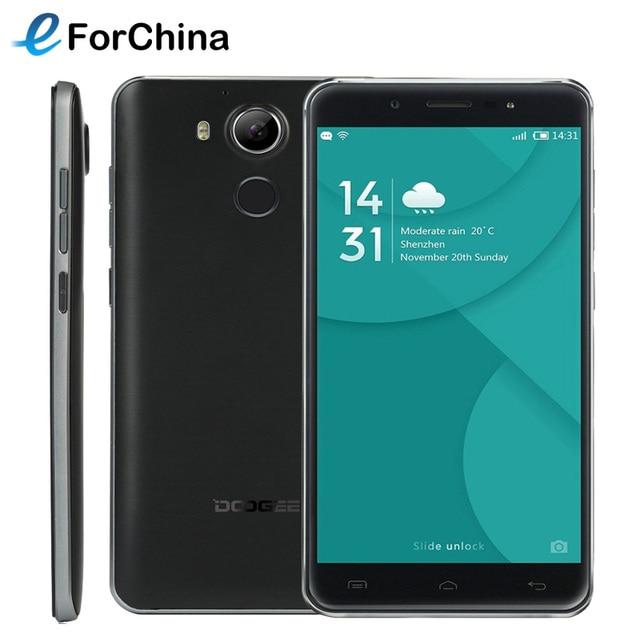 Original DOOGEE F7 Helio X20 Phone MTK6797 Deca core RAM 3GB ROM 32GB 5.5 inch 1920x1080 Android 6.0 Smartphone 13MP 4G FDD LTE