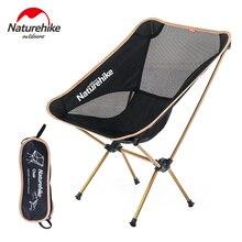 Naturehike легкий портативный Открытый компактный складной стул для Пикника Складной рыболовный пляжный стул складной стул для кемпинга