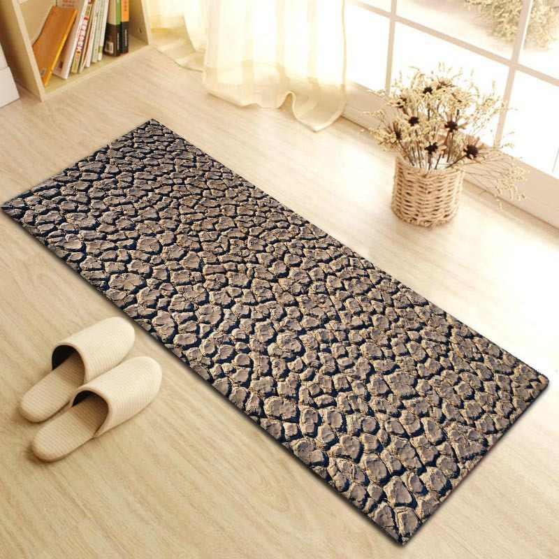 Zeegle фланелевые напольные коврики уличные мягкие Bederoom прикроватные коврики противоскользящие диван ковер напольный ковры Впитывающее кухонное Коврики для прихожей