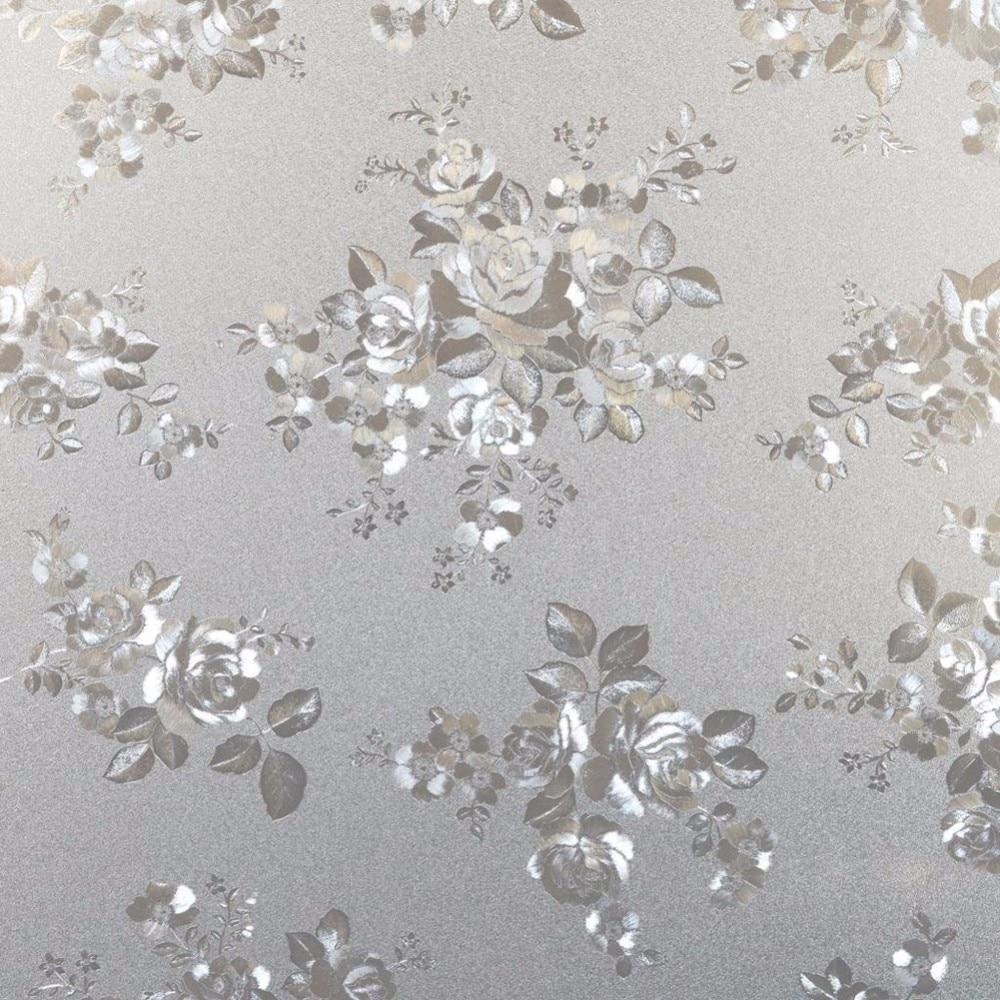Hoge Kwaliteit PVC Flora Opaque Frosted Statische Glas Glasfolie