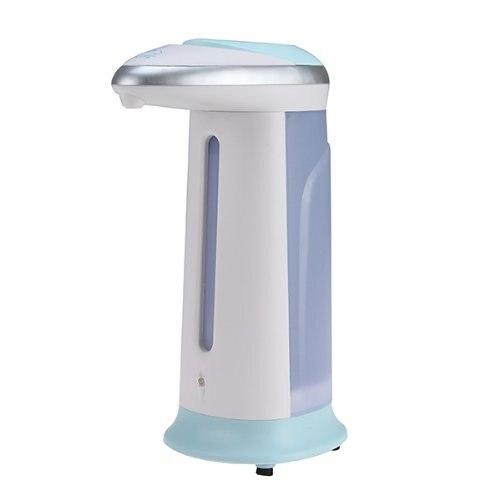 Automatic hands-free Cream color touchless auto soap dispenser (Blue +White)